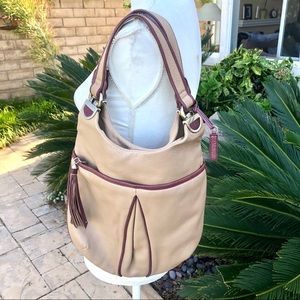 Cole Haan Leather Hobo Purse